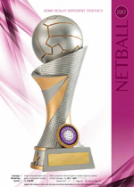 Netball Catalogue-different trophies