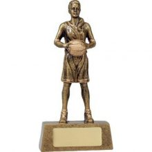 Basketball Trophy Hero Female