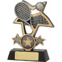 Tennis Trophy Tri-Star