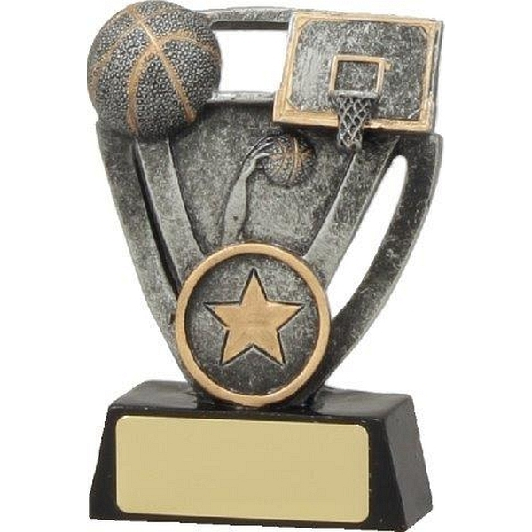 Basketball Trophy Tri-Star | buy trophies online with free