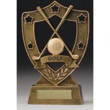 Golf Trophy Shield