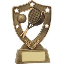 Tennis Trophy Shield