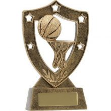 Basketball Trophy Shield