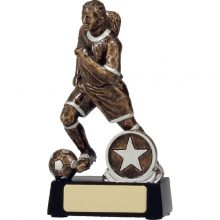 Soccer Trophies Trophy Action Female