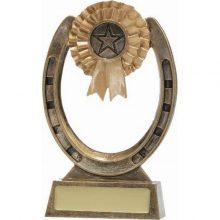 Horse Trophy Shoe