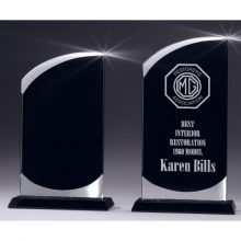 Black Glass Swerve Trophy