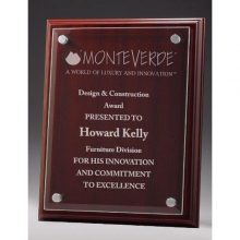 Acrylic Front Plaque – Stand not included