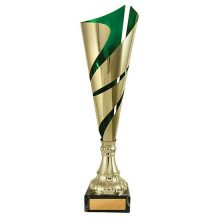 Flame Series Cup Green/Gold