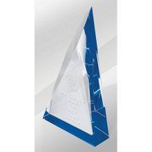 Crystal Kaleido Prism Blue Reflections