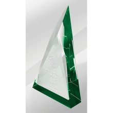 Crystal Kaleido Prism Green Reflections
