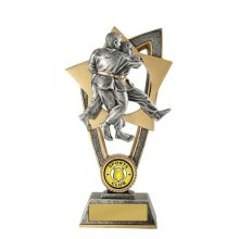 Ezi-Rez Martial Arts Trophy With 25mm Centre