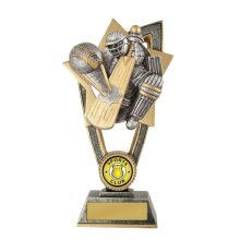 Cricket Trophy With 25mm Centre