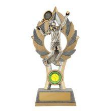 Ezi-Rez Male Tennis Trophy With 25mm Centre