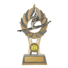 Ezi-Rez Gymnastics Trophy With 25mm Centre