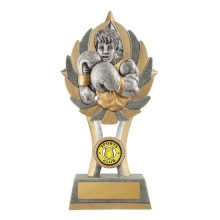 Ezi-Rez Boxing Trophy With 25mm Centre