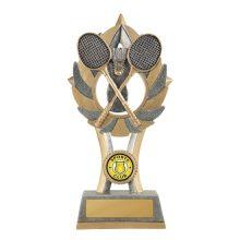 Ezi-Rez Badminton Trophy With 25mm Centre