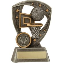 Basketball Trophy Pro-Shield