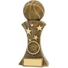 Basketball Trophy Triumph