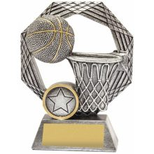 Basketball Trophy Opal