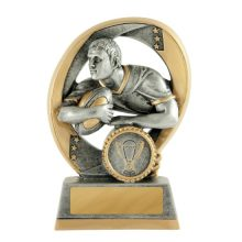 Elliptical Breakthru Rugby Trophy With 25mm Centre