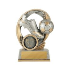 Elliptical Series Football Trophy With 25mm Centre