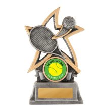 Silver Star-Tennis With 25mm Centre
