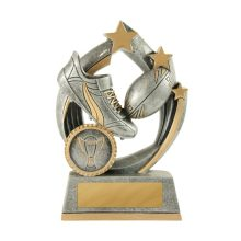 Atomic Series Rugby Trophy With 25mm Centre