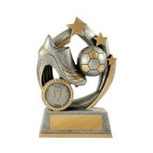 Atomic Football Trophy With 25mm Centre