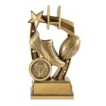 Maverick Rugby Trophy With 25mm Centre