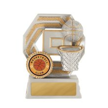 Titan Series Basketball Trophy With 25mm Centre