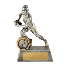 Mercurial Playmaker Rugby Trophy With 25mm Centre