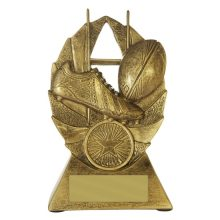 Fanatics Rugby Trophy With 25mm Centre