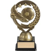 Torch Soccer Trophies Gold