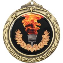 Gold Medal With 50mm Centre