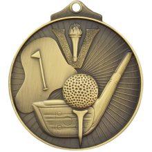 Golf Medal gold
