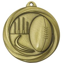 Aussie Rules Medal Gold