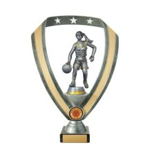 Basketball Trophy With 25mm Centre