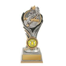 Flame Trophy Snooker With 25mm Centre