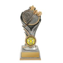 Flame Tower Darts Trophy With 25mm Centre