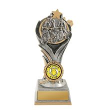 Flame Tower Cycling Trophy With 25mm Centre