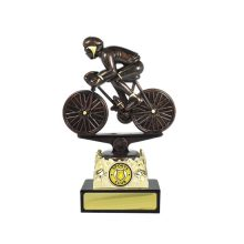 Cycling Trophy With 25mm Centre