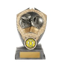 Hero Shield Boxing Trophy With 25mm Centre