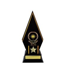 Timber Backstand Trophy With 25mm Centre