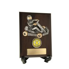 Go-Kart Plaque With 25mm Centre