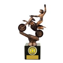 Motocross Trophy With 25mm Centre