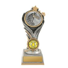 Flame Tower Horse Trophy With 25mm Centre