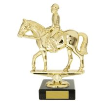 Horse Trophy With 25mm Centre