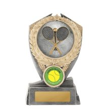 Hero Shield Tennis Trophy With 25mm Centre