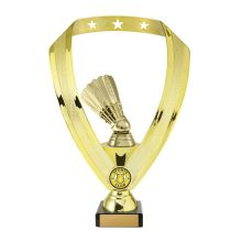 Badminton Trophy With 25mm Centre