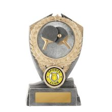 Hero Shield Table Tennis Trophy With 25mm Centre